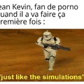 Jean Kevin est déterminé