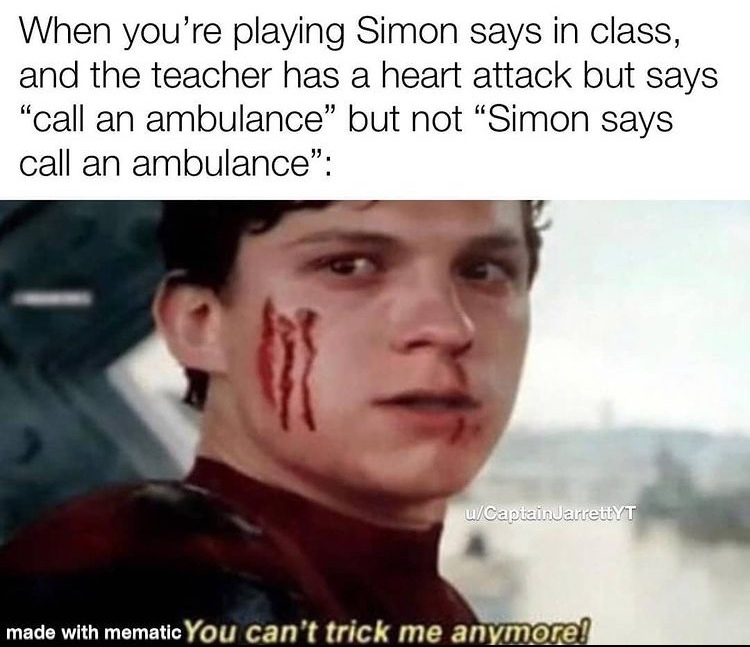 you can't trick me anymore - meme