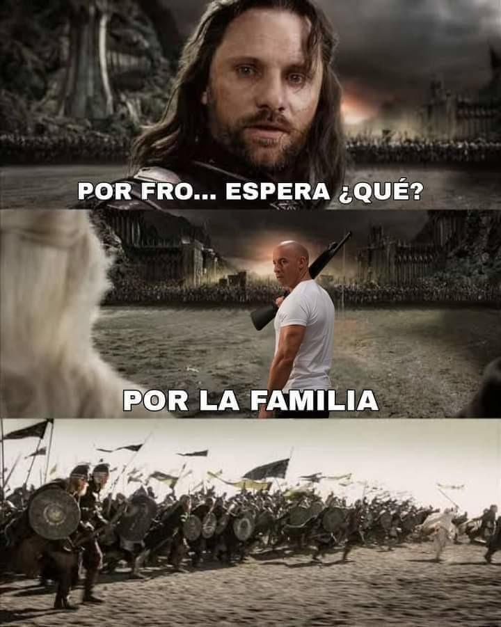La familia - meme