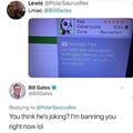 don't fuck with bill gates's son nibba