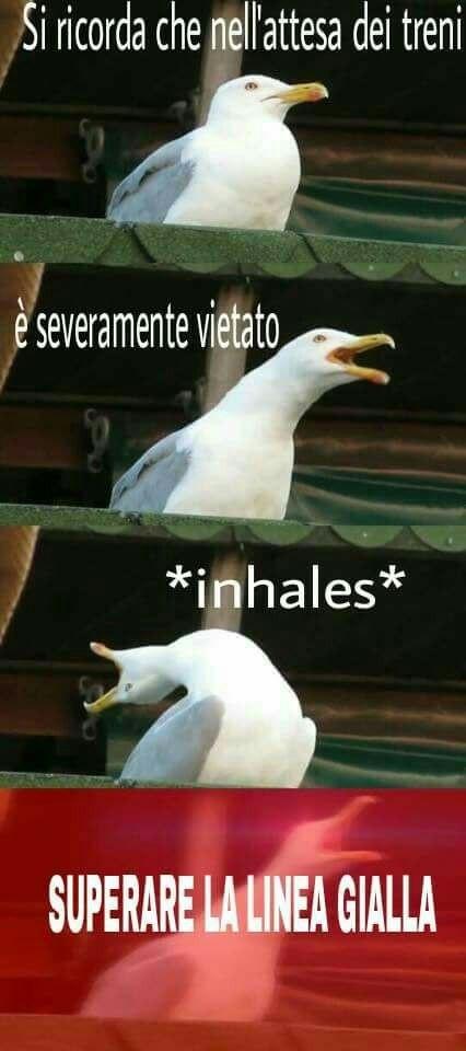 In stazione - meme