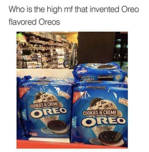 Oreo hungry? - meme