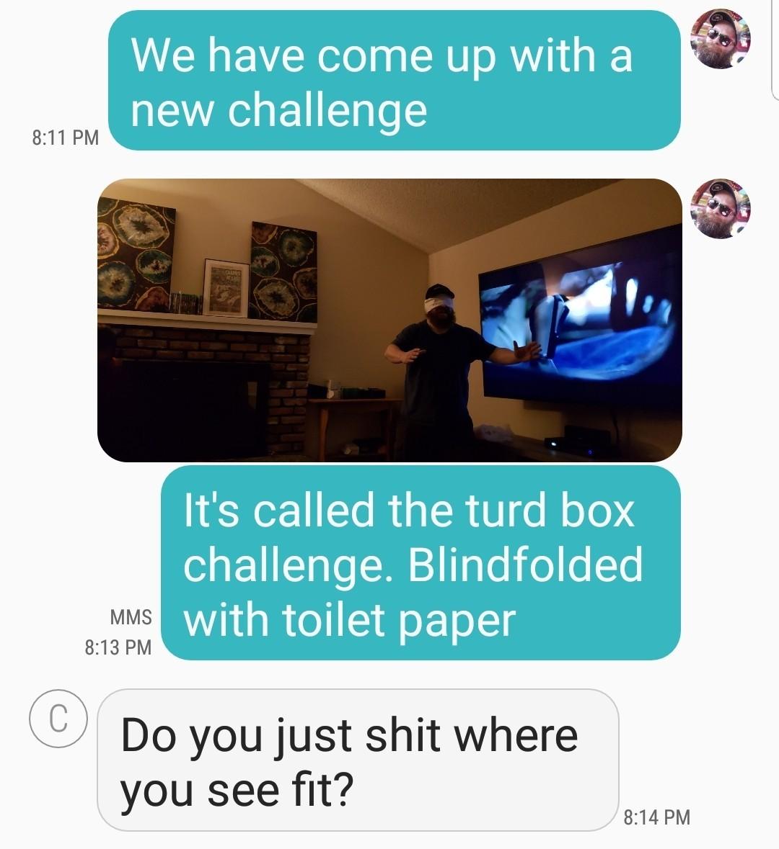 Turd Box Challenge - meme