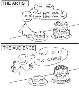 Dicks in a cake - meme