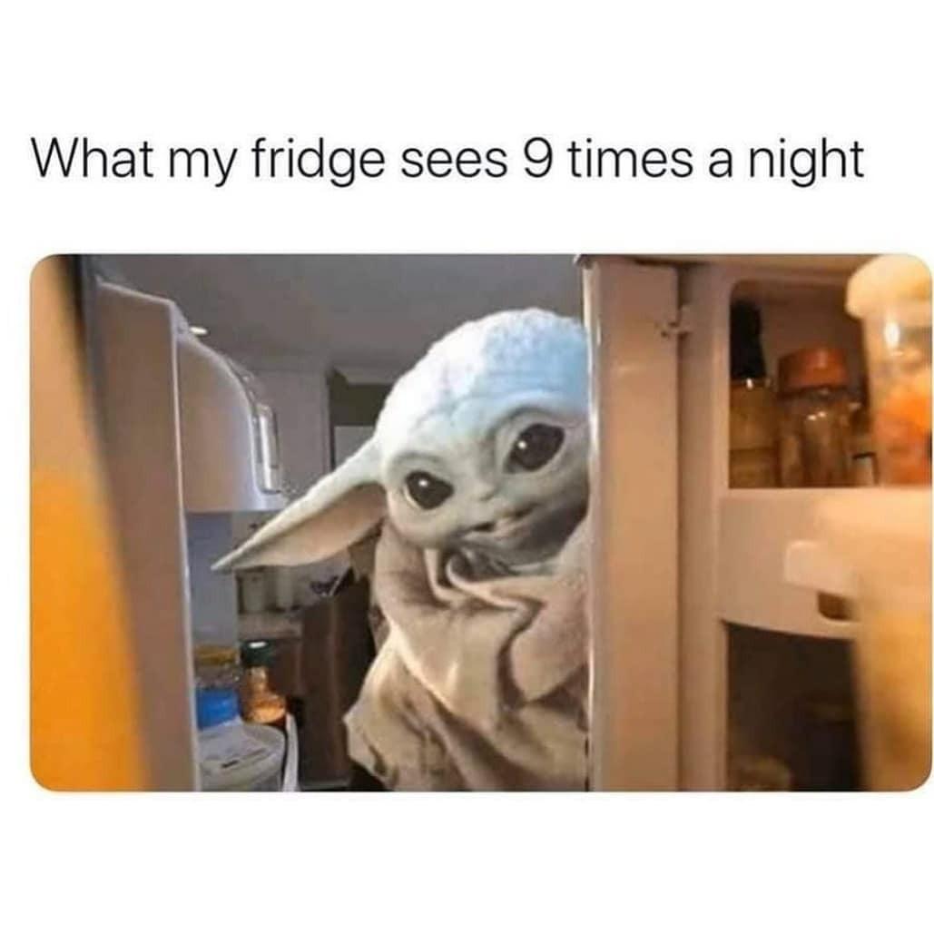 Baby yoda meme!