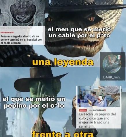 Legendarios - meme