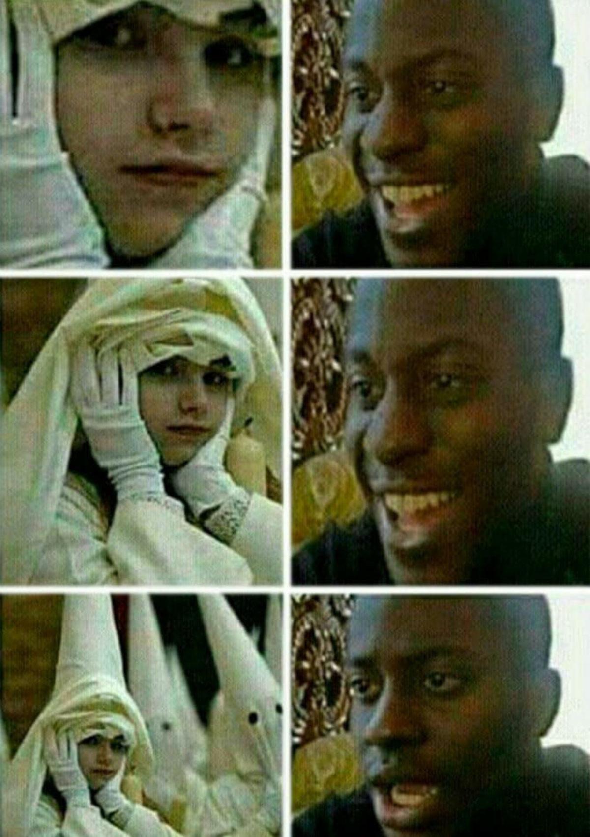 La chica del Ku Klux Klan - meme