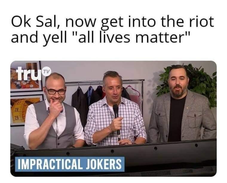 Or Blue loves matter - meme