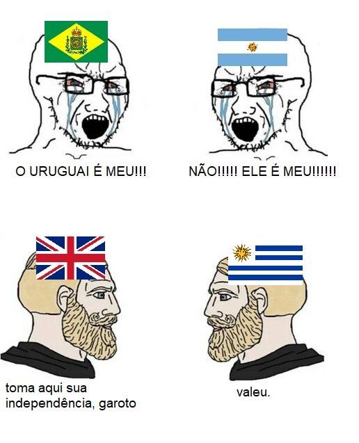 A CISPLATINA É NOSSA - meme