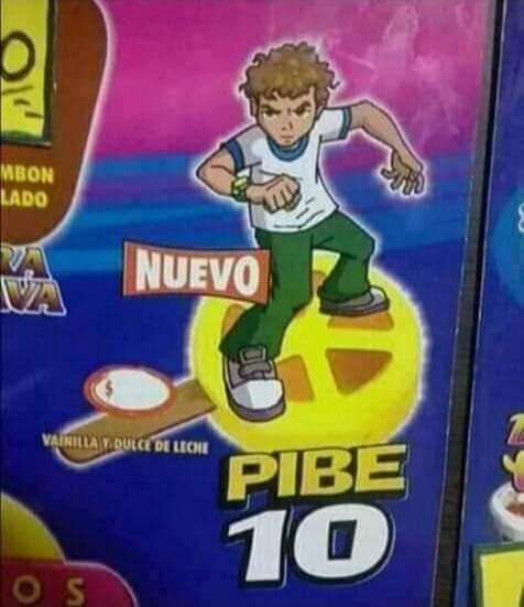 Pibe 10 - meme
