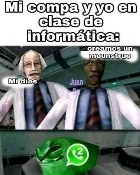 WhatsApp 2 - meme