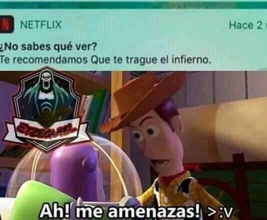 a me amenasas - meme