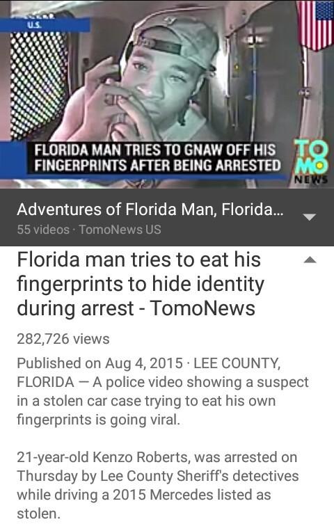 Floridaman - meme