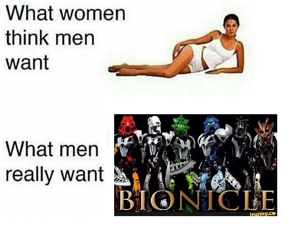 I love bionicle - meme