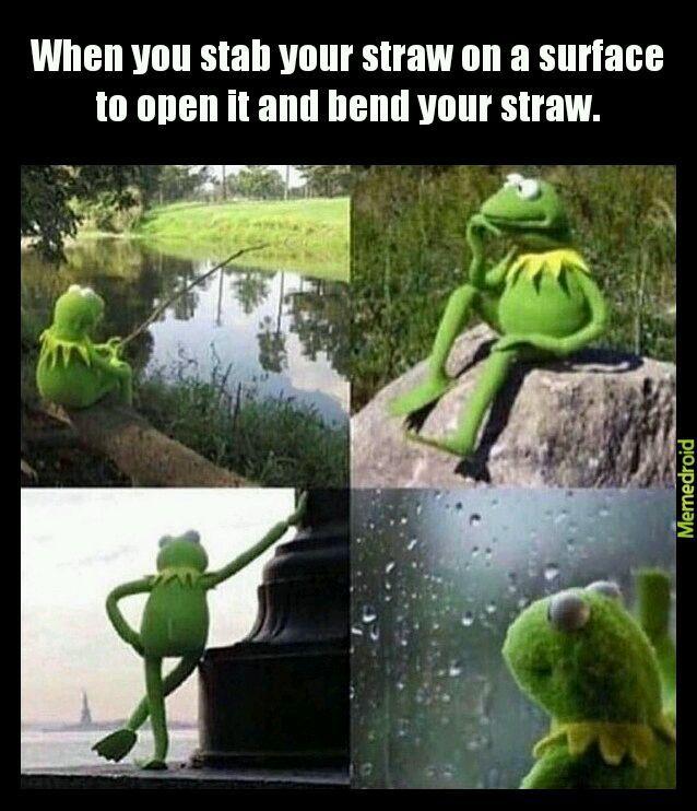 PLOT TWIST: IT WAS.A BENDY STRAW - meme