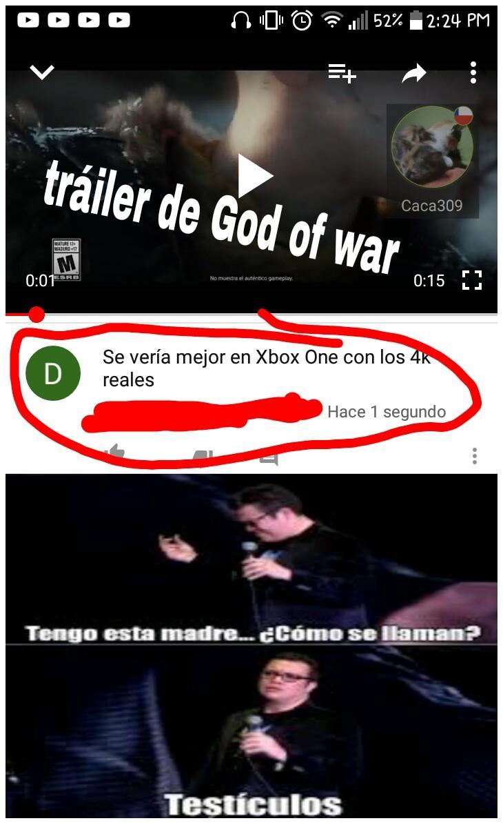 God of war - meme