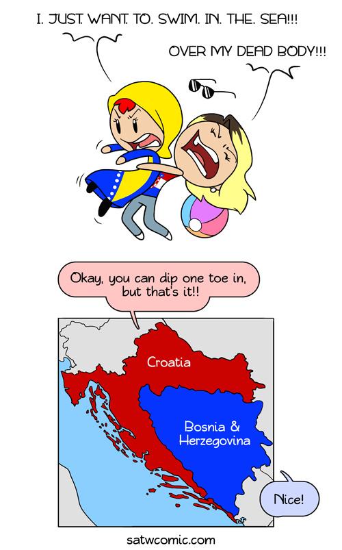 Croatia's Sea - meme