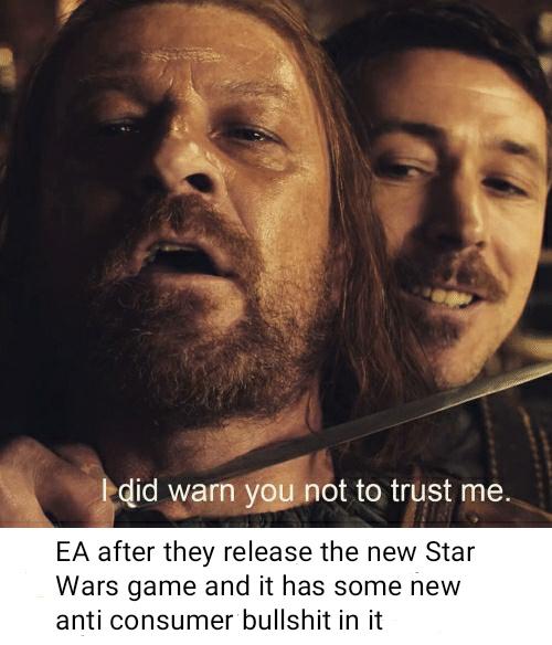 Trust noone - meme