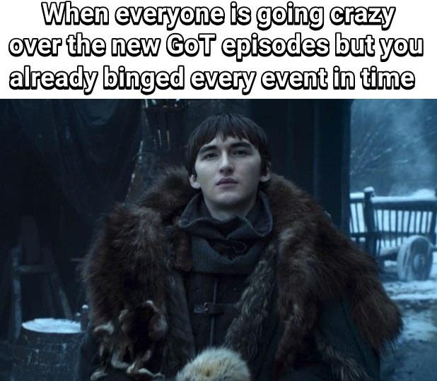 Binge watching champ - meme