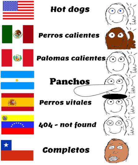 Solo es humor, Chile es un buen país (quitando a mr.pijas y tomas_semen :genius:) - meme