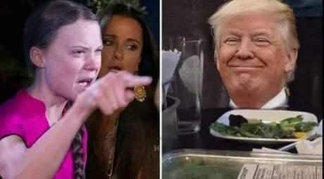 Qui aime la salade ici ? - meme