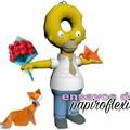 Homer y sus ENSAYOS DE PAPIROFLEXIA