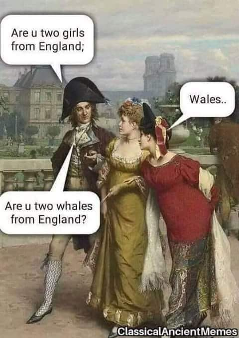 begone wench! - meme