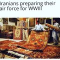 """""""Les Iraniens préparant leurs forces aériennes pour la WW3"""