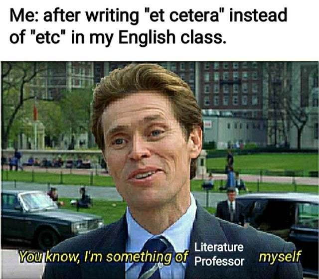Et cetera - meme
