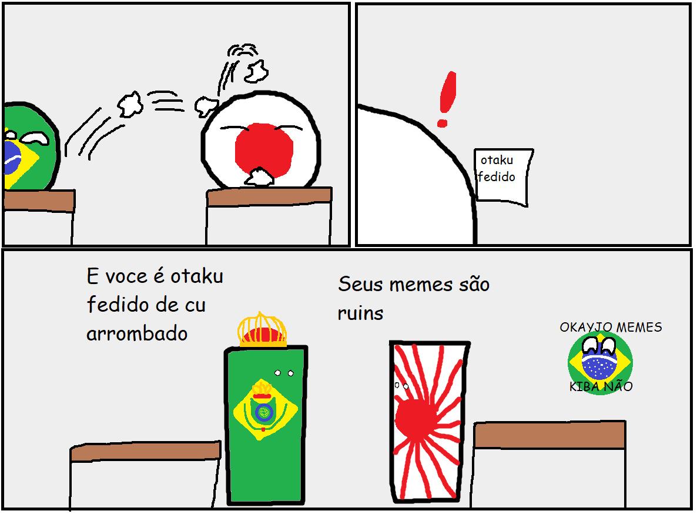 Império do Brasil VS Império do Japão - meme