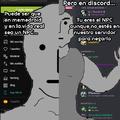 NPCdroiders usando discord como safezone para desahogarse de los usuarios que los dejan llorando XDDDDD