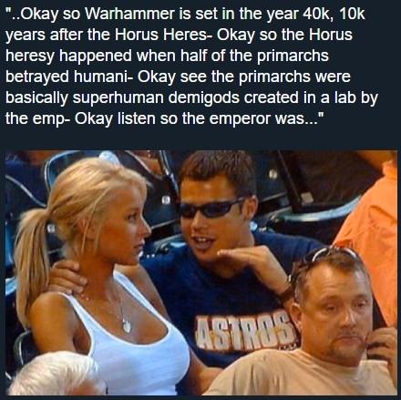 Warhammer 40k - meme