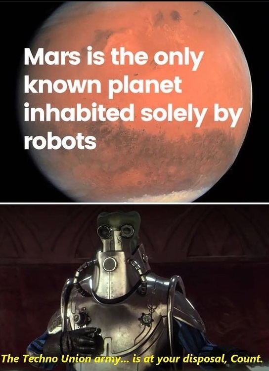 robot world - meme
