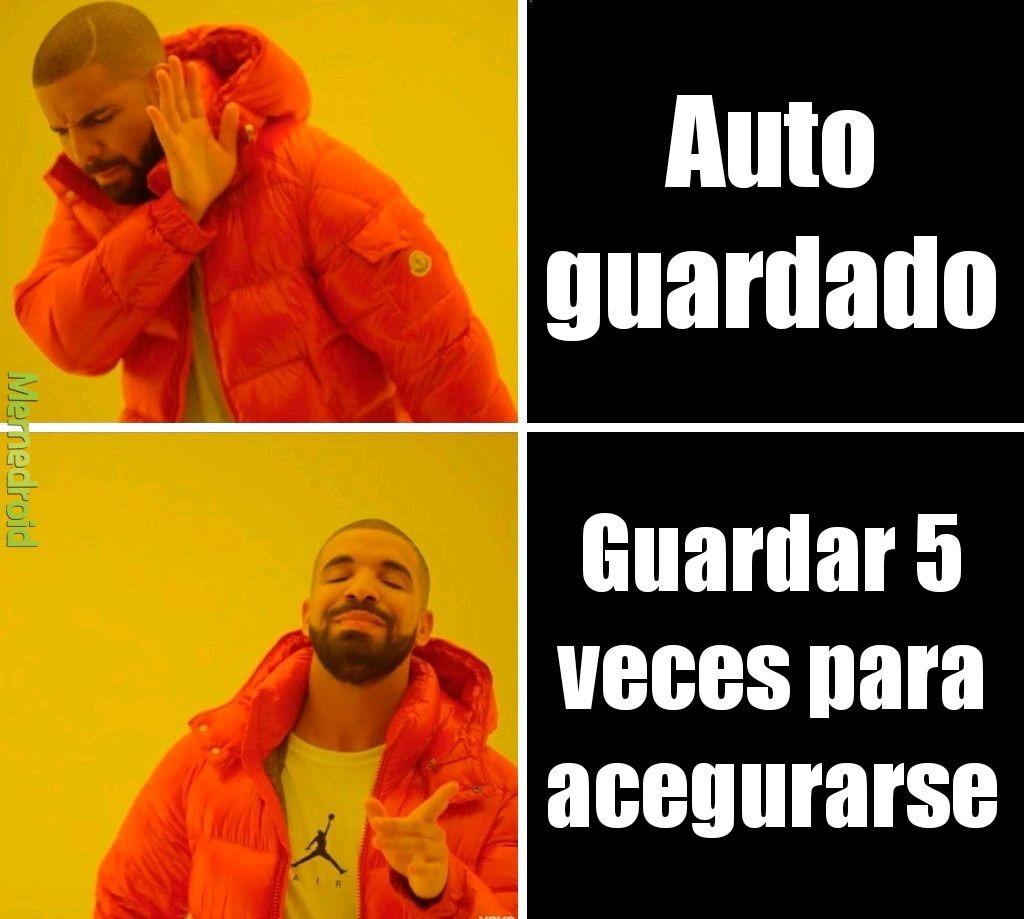 Guardar - meme