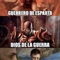Kratos y sus multiples trabajos :v