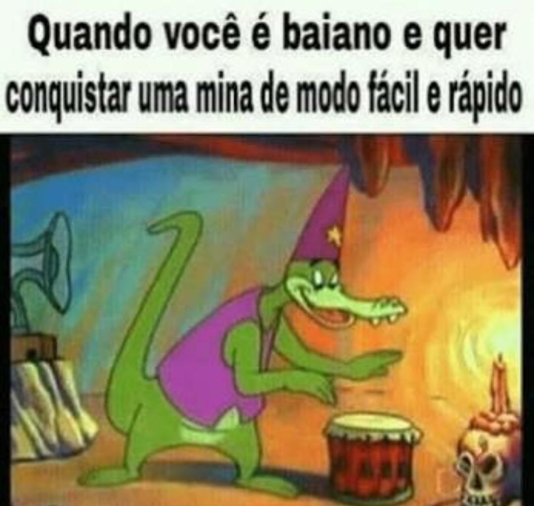 ALALA ALELE EU QUERO UMA CABRITA GOSTOSA PRA CUME - meme