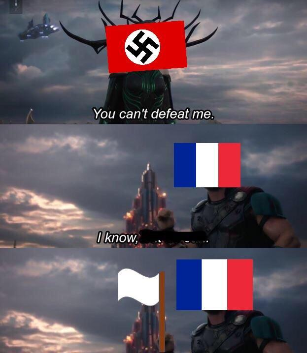 Germany vs France - meme