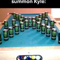 How to summon Kyle