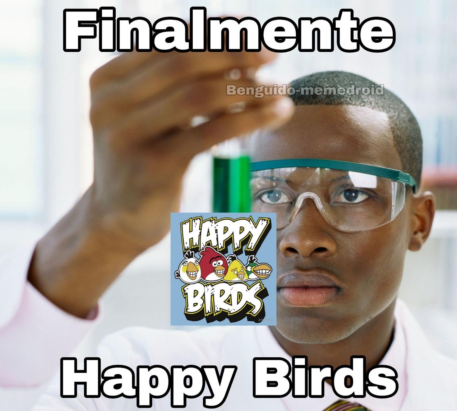 Los jangri birds ahora son japis - meme