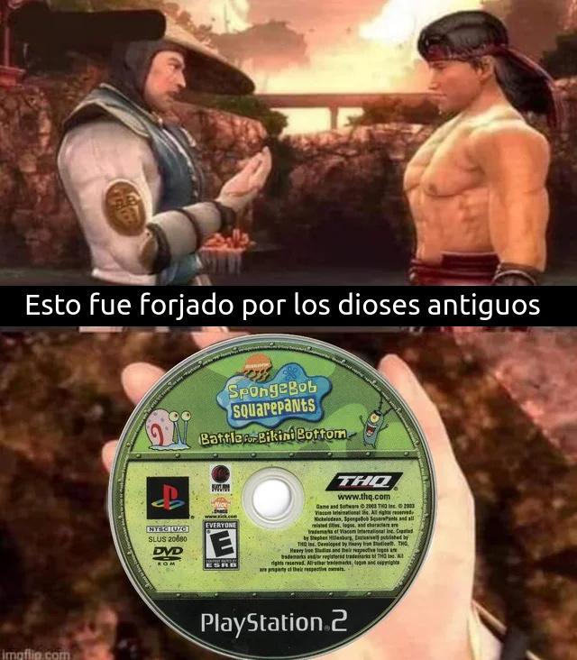 Aun tengo mi PS2 - meme