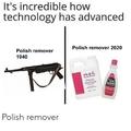 Polish remover