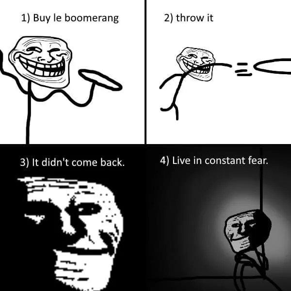 "The ""boomerang"" incident - meme"