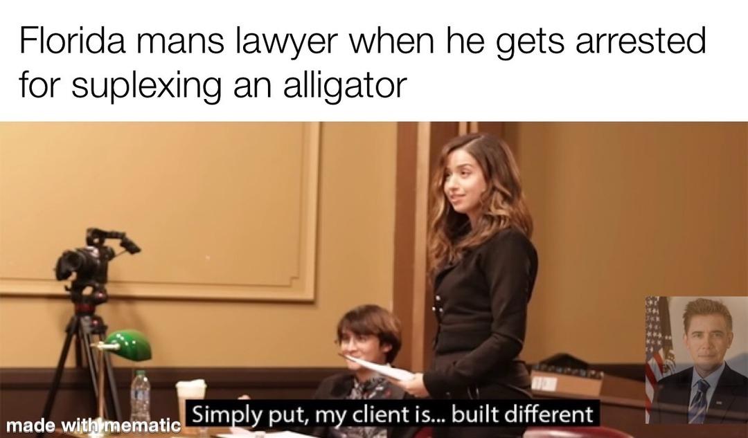 Built Different - meme