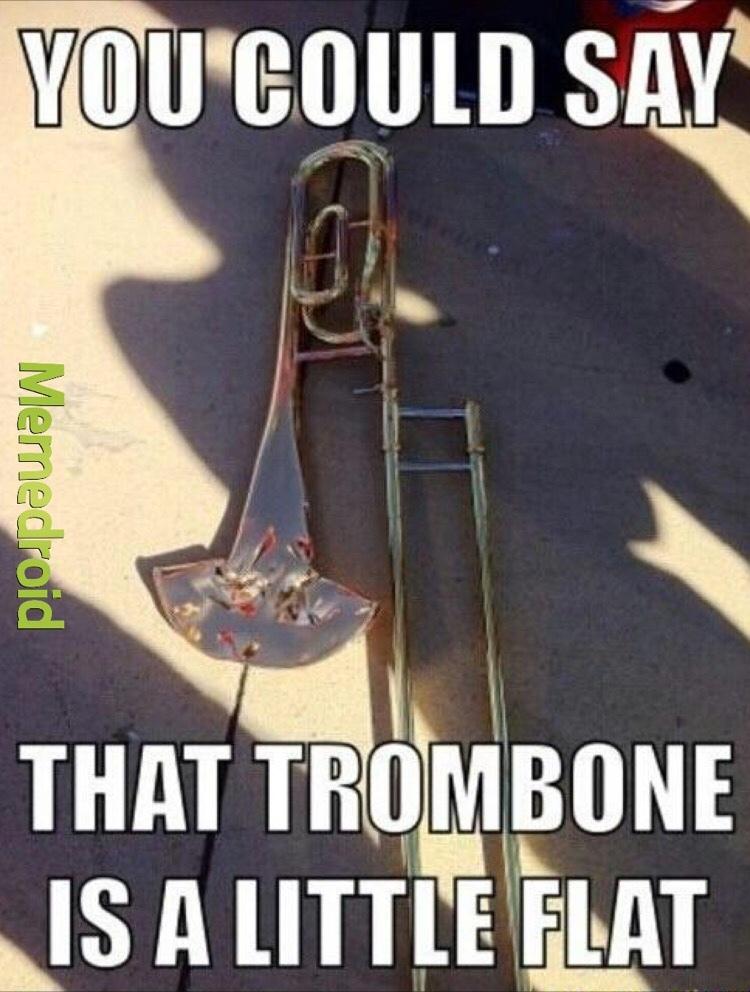 trombone meme