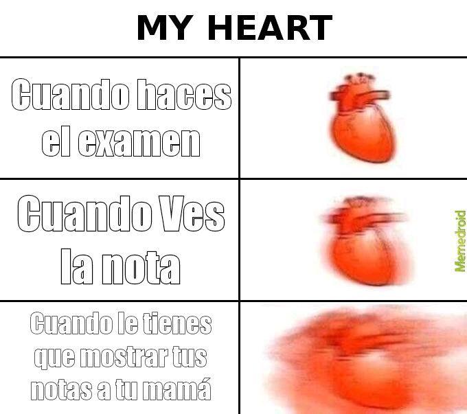 El examen - meme