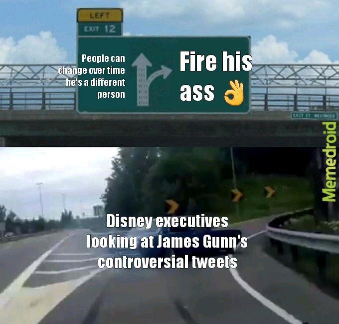 James Gunn - meme