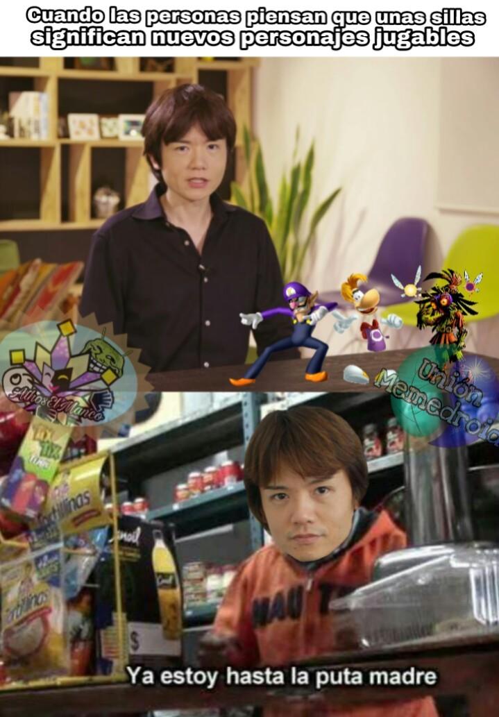 Pobre Sakurai :( - meme