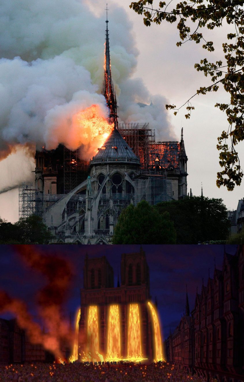 Notre Dame Cathedral Is Burning, and all I can think of is this - meme