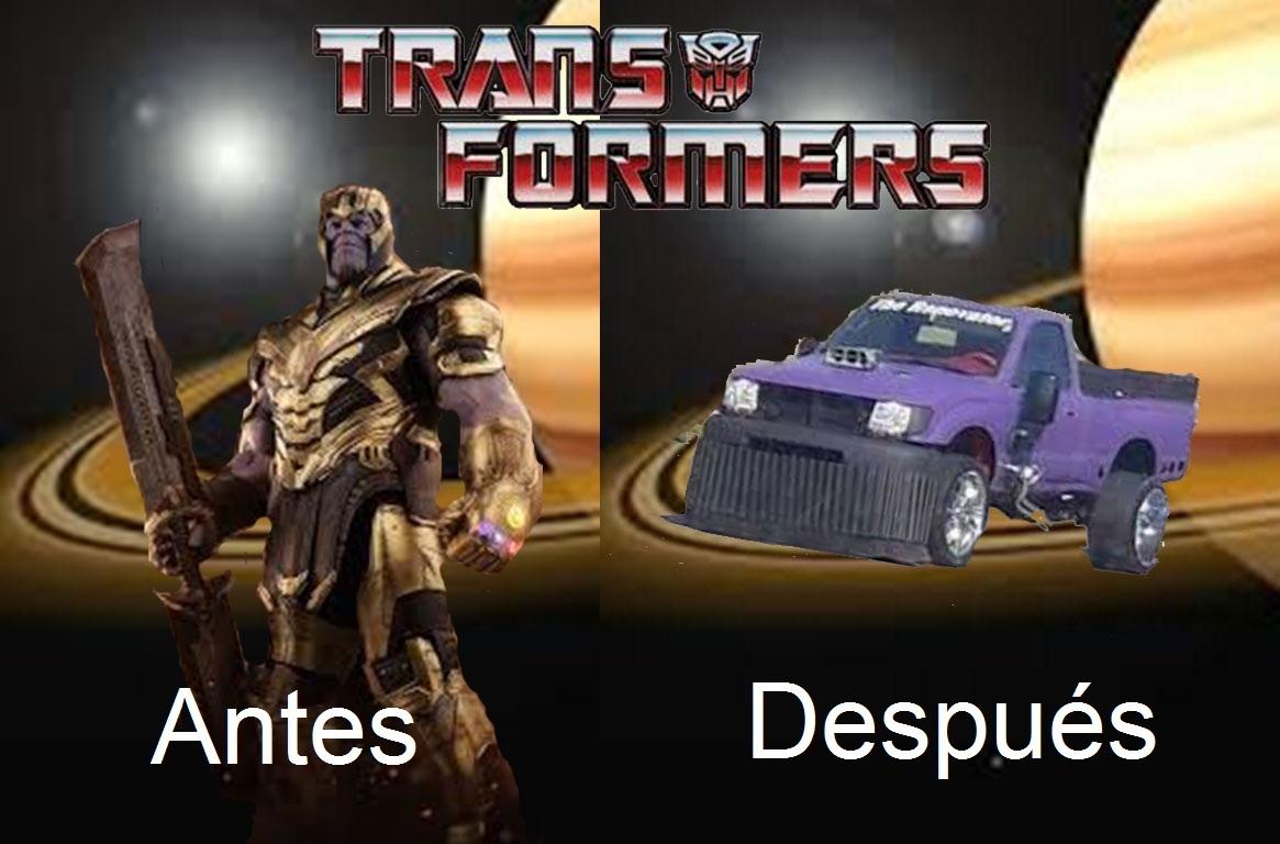 ¡¡THANOS CAR THANOS CAR!! - meme