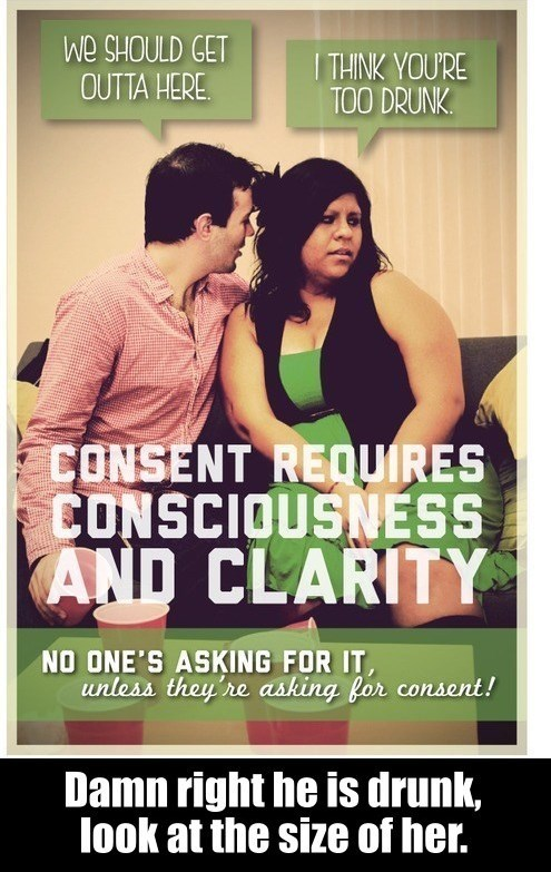 dongs in a consent - meme